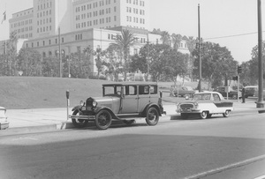 Historical Category1st and Broadway, Los Angeles, CA1929 Ford11-1-1960Photo by Leo Caloia**K.B. - Image 13480_0021