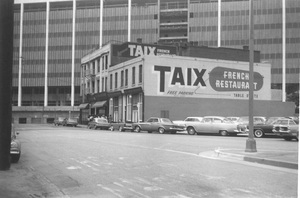 Historical CategoryTaix French Restaurant, Los Angeles, CA8-27-1964Photo by Leo Caloia**K.B. - Image 13480_0027