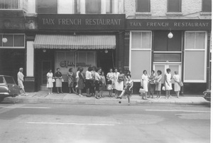 Historical CategoryTaix French Restaurant, Los Angeles, CA8-27-1964Photo by Leo Caloia**K.B. - Image 13480_0028