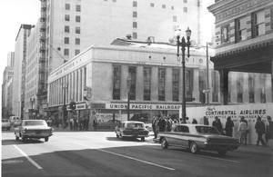 Historical CategoryUnion Pacific Building, Los Angeles, CA11-13-1964Photo by Leo Caloia**K.B. - Image 13480_0032