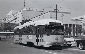 Historical CategoryLos Angeles Street Cars11-1-1962Photo by Leo Caloia**K.B. - Image 13480_0034