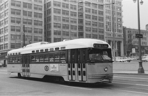 Historical CategoryLos Angeles Street Cars11-1-1962Photo by Leo Caloia**K.B. - Image 13480_0035