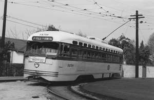 Historical CategoryLos Angeles Street Cars11-1-1962Photo by Leo Caloia**K.B. - Image 13480_0038
