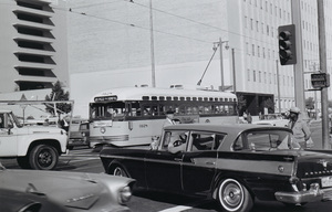 Historical CategoryLos Angeles Street Cars11-1-1962Photo by Leo Caloia**K.B. - Image 13480_0040