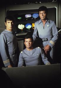 """Star Trek: The Motion Picture""Leonard Nimoy, William Shatner, DeForest Kelley1979© 1979 Gene Trindl - Image 1355_0021"