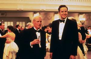 """The Hudsucker Proxy,""Paul Newman & Tim Robbins. © 1994 Warner Brothers - Image 1358_0006"