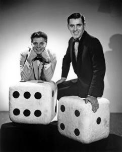 """Mr. Lucky""Ross Martin, John Vivyan1959Photo by Gabi Rona - Image 13584_0010"