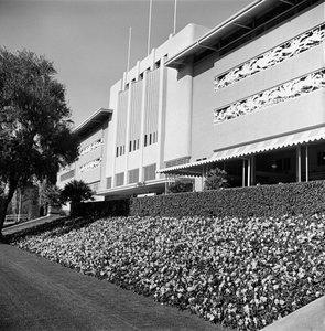 """""""Santa Anita Racetrack""""circa 1955 © 1978 Herman V. Wall - Image 13607_0001"""