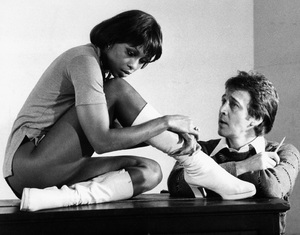 """Bobby Van and Lola Falana during the rehearsals for the musical """"Doctor Jazz""""1975 - Image 13631_0005"""