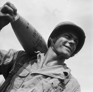 Army basic training (165th)circa 1941 © 1978 Herman V. Wall  - Image 13649_0001