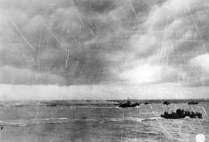 6 June 1944D-Day Invasion of Normandy, FranceOmaha Beach, Easy Red Sector1st Army, 1st Division© 1978 Herman V. Wall - Image 13651_0002