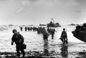 6 June 1944D-Day Invasion of Normandy, FranceOmaha Beach, Easy Red Sector1st Army, 1st Division© 1978 Herman V. Wall - Image 13651_0013