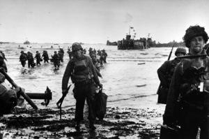 6 June 1944D-Day Invasion of Normandy, FranceOmaha Beach, Easy Red Sector1st Army, 1st Division© 1978 Herman V. Wall - Image 13651_0014