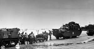 6 June 1944D-Day Invasion of Normandy, FranceOmaha Beach, Easy Red Sector1st Army, 1st Division© 1978 Herman V. Wall - Image 13651_0018