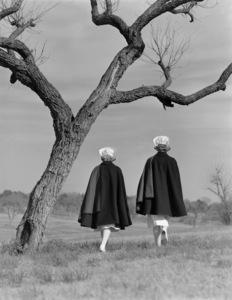 Army nurses in San Antonio, Texas1944 © 1978 Herman V. Wall - Image 13654_0002