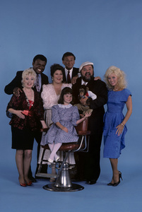 """""""The Dom DeLuise Show""""George Wallace, Charlie Callas, Dom DeLuise, Angela Aames, Lauren Woodland1987© 1987 Gene Trindl - Image 13660_0013"""