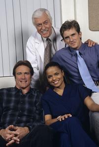 """""""Diagnosis Murder""""Barry Van Dyke, Dick Van Dyke, Victoria Rowell, Charlie Schlatter1998 © 1998 Gene Trindl - Image 13671_0053"""