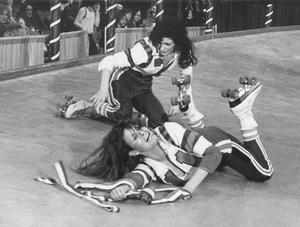 """Kansas City Bomber, The""Helena Kallianiotes, Raquel Welch1972 MGM - Image 13690_0001"