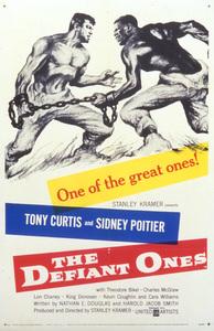 """""""The Defiant Ones""""Poster1958 MGM**I.V. - Image 1369_0004"""