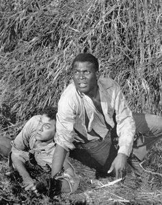 """""""The Defiant Ones""""Tony Curtis & Sidney Poitier1958 MGM**I.V. - Image 1369_0005"""