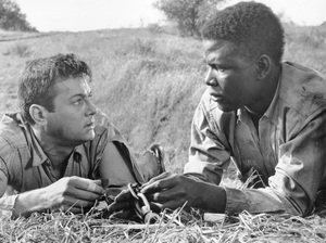 """""""The Defiant Ones""""Tony Curtis & Sidney Poitier1958 MGM**I.V. - Image 1369_0007"""
