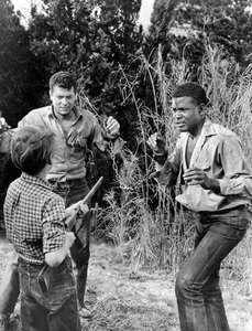 """The Defiant Ones""Tony Curtis & Sidney Poitier1958 MGM**I.V. - Image 1369_0008"