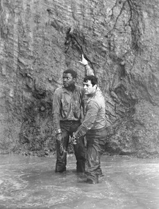 """The Defiant Ones""Tony Curtis & Sidney Poitier1958 MGM**I.V. - Image 1369_0009"