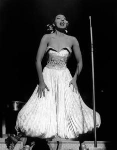 Josephine Baker Performing.C. 1960 - Image 13694_0010