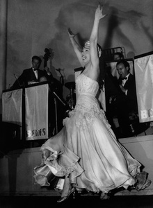 Josephine Baker Performing.C. 1960 - Image 13694_0011