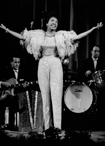 Josephine Baker Performing in West Berlin.1963 - Image 13694_0013
