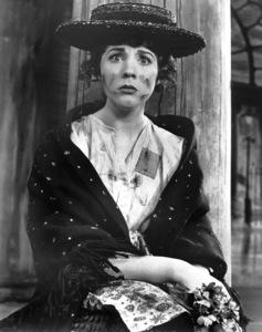 """""""My Fair Lady"""" on Broadway at the Mark Hellinger TheatreJulie Andrews as Eliza DoolittleLerner and Loewe, 1956**I.V. - Image 13714_0003"""
