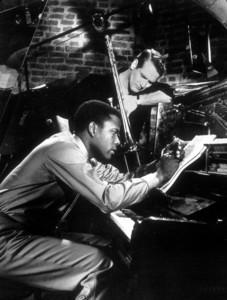 """""""Paris Blues,""""Sidney Poitier & Paul Newman.1961 UA - Image 1372_0001"""