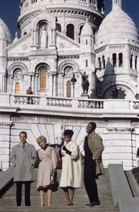 """Paris Blues""Paul Newman, Joanne Woodward, Diahann Carroll, Sidney Poitier 1961 United Artists** I.V. - Image 1372_0004"