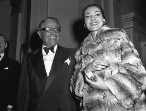 Maria Callas with Aristotle Onassis1959/**I.V. - Image 13732_0002