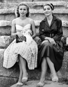 Maria Callas with Athina Onassis1959 in Greece**I.V. - Image 13732_0003