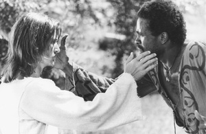 """Jesus Christ Superstar""Ted Neeley as Jesus Christ and Carl Anderson as Judas1973 UniversalMPTV - Image 13771_0003"