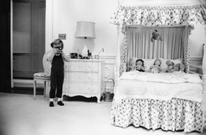 Caroline Kennedy at The White Housecirca 1961 © 2000 Mark Shaw - Image 13772_0001