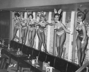 Playboy Bunniesat the Playboy Club in New York CityDecember 18, 1962 - Image 13801_0005