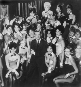 Playboy BunniesHugh Hefner at the Playboy Club in New York CityMarch 1963 - Image 13801_0008