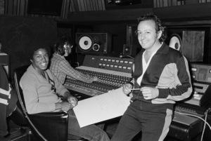 Jermaine Jackson in a Motown recording studiocirca 1980 © 2009 Bobby Holland - Image 13830_0006