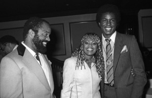 Berry Gordy Jr. with his daughter Hazel Gordy Jackson and her husband, Jermaine Jackson, at a Motown event (Berry Gordy Jr.