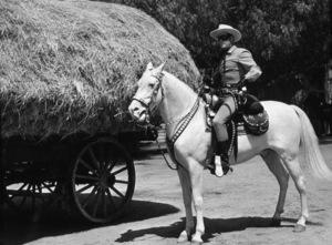 """""""Lone Ranger, The""""Clayton Moore1955 Warner Bros.Photo by Jack WoodsMPTV - Image 1384_0001"""