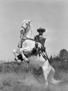 """""""Lone Ranger, The""""Clayton Moore1955 Warner Bros.Photo by Jack WoodsMPTV - Image 1384_0002"""