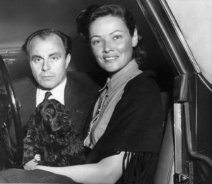 Prince Aly Khan and Gene Tierney1954 - Image 13851_0002