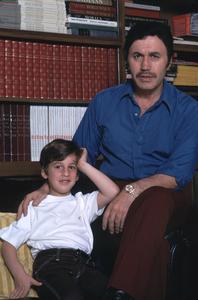 Michael Ansara and son Matthew Ansara,1972. © 1978 Gene Trindl - Image 13884_0001