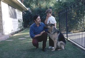 Michael Ansara and son Matthew Ansara,1972. © 1978 Gene Trindl - Image 13884_0002