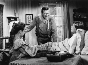 """The Comancheros""John Wayne, Aissa Wayne1961 20th Century Fox - Image 13897_0004"