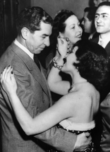 """Charles """"Lucky"""" Luciano dances with girl in Italy1949 - Image 13924_0005"""