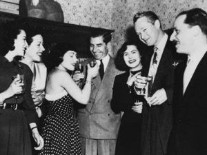 """Charles """"Lucky"""" Luciano at a private house party in Rome1949 - Image 13924_0013"""