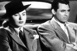 """Notorious,""Ingrid Bergman and Cary Grant.1946 RKO - Image 1398_0001"